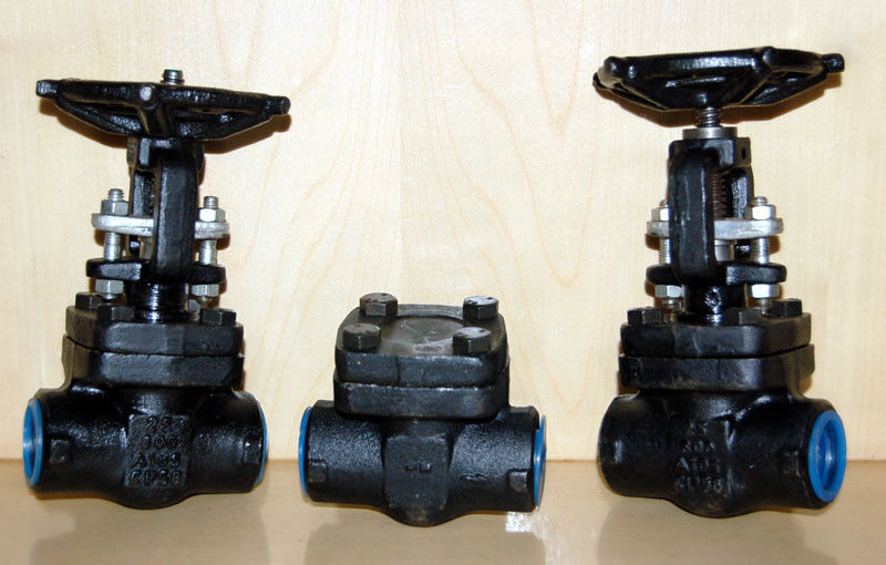 Forged Steel Globe Valve Carbon Steel / Stainless Steel , Flexible Wedge Bolted Bonnet